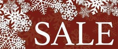 sale weihnachtsdekoration