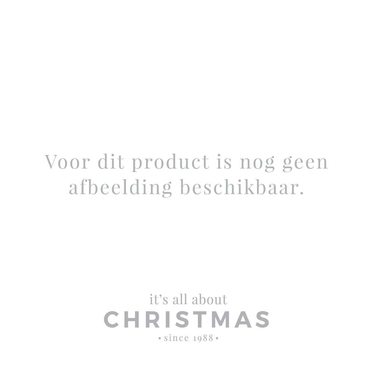 Luxus Weihnachtsmann stehend 60cm grau