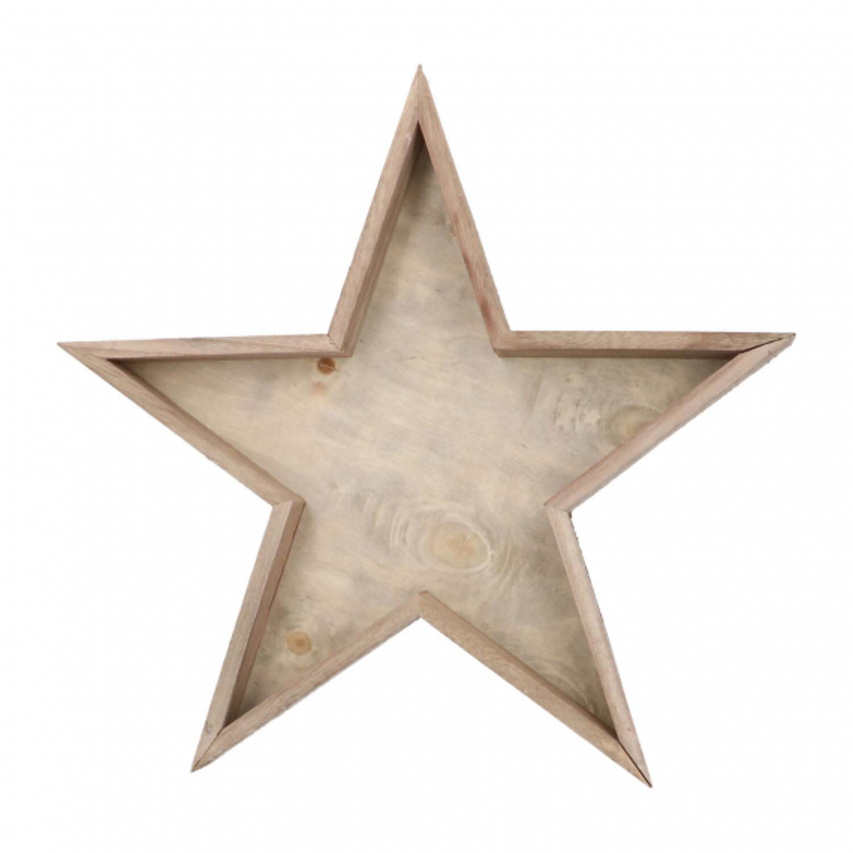 Holztablett Stern, 40 cm