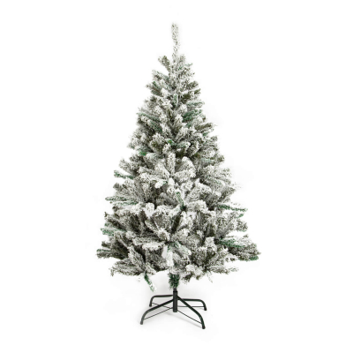 Künstlicher Weihnachtsbaum mit Schnee Noxx Kiefer, 150 cm